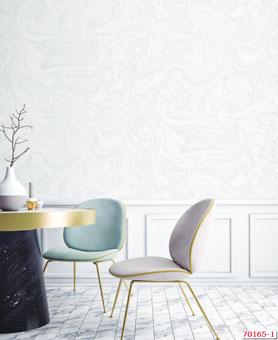 Tổng hợp những mẫu giấy dán tường đơn sắc trở thành xu hướng 2019 by kiến trúc Doorway, mẫu giấy dán tường đơn sắc giả đá Living mã 70165-1 Interior