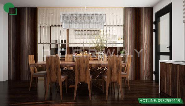 20+ mẫu thiết kế phòng ăn đẹp nhất năm 2019 by kiến trúc Doorway mẫu 14