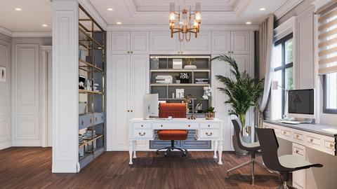 7 mẫu phòng làm việc đẹp tại nhà năm 2019 by kiến trúc Doorway ảnh tiêu biểu