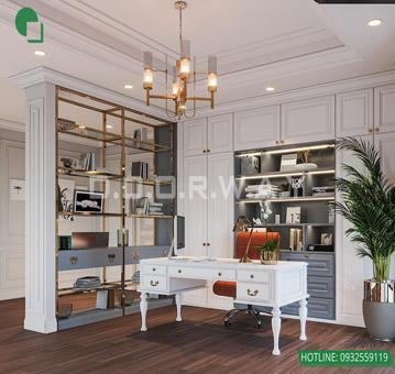 7 mẫu phòng làm việc đẹp tại nhà năm 2019 by kiến trúc Doorway 3 góc 03