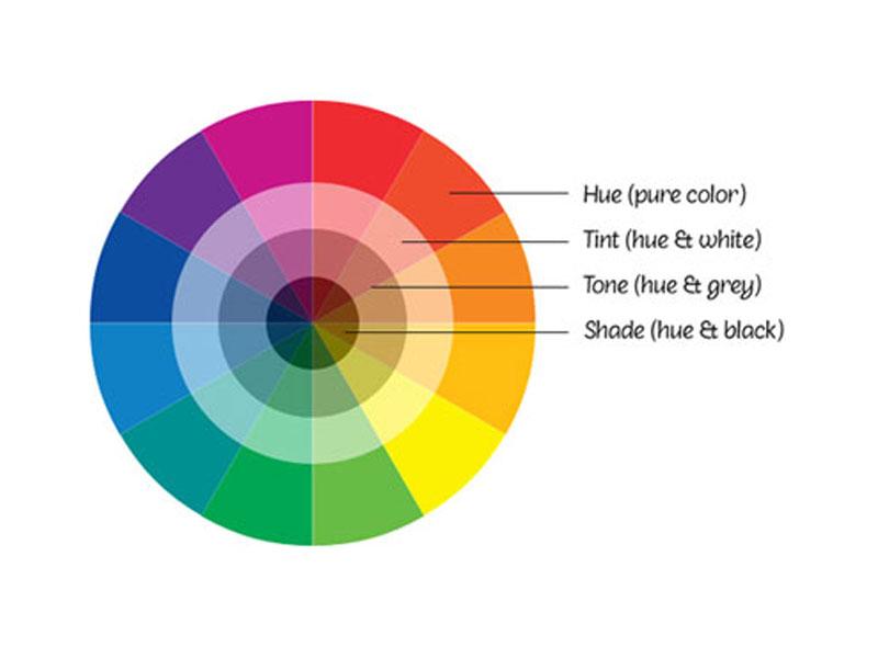 Quy luật trong phối màu nội thất