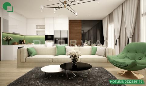 Top 10 đơn vị thiết kế nội thất uy tín tại Hà Nội 2019 by kiến trúc Doorway, mẫu nội thất chung cư 1