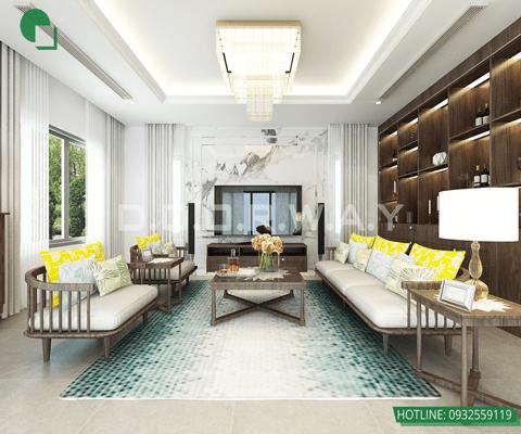 Top 10 đơn vị thiết kế nội thất uy tín tại Hà Nội 2019 by kiến trúc Doorway, mẫu nội thất biệt thự 1