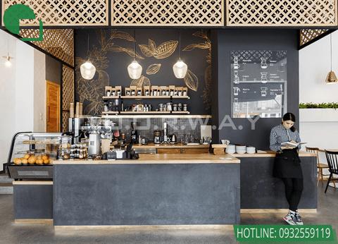 Top 10 đơn vị thiết kế nội thất uy tín tại Hà Nội 2019 by kiến trúc Doorway, mẫu nội thất quán cafe