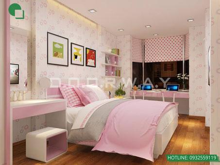 Tham khảo 5 mẫu thiết kế phòng ngủ cho bé đẹp mà an toàn by kiến trúc Doorway 02