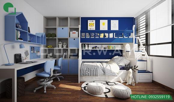 Tham khảo 5 mẫu thiết kế phòng ngủ cho bé đẹp mà an toàn by kiến trúc Doorway 03