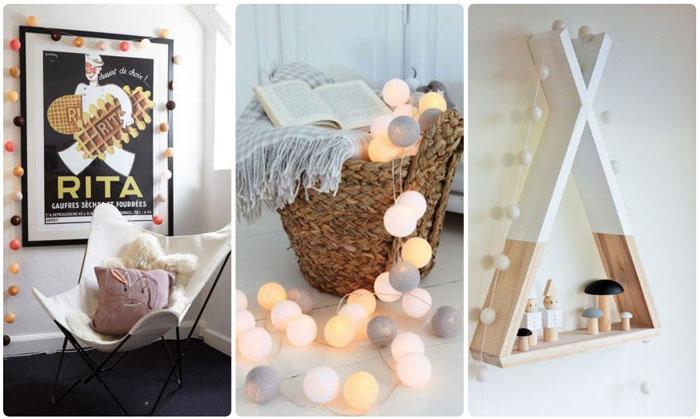 12-trang trí phòng ngủ dễ thương bằng đèn led