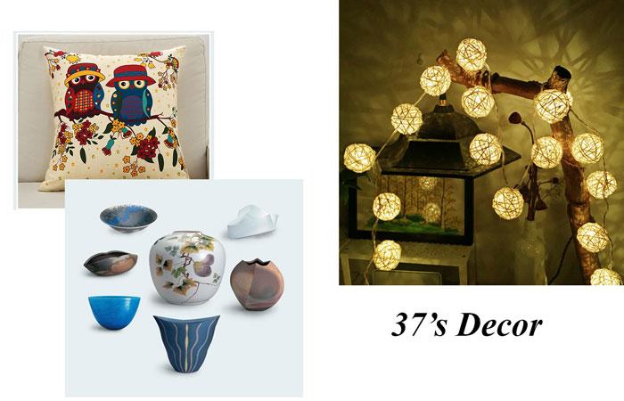 25-trang trí phòng ngủ bằng đồ trang trí mua tại 37's Decor