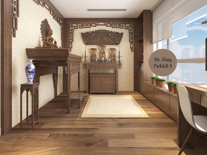 6-Các mẫu phòng thờ đẹp nhất cho chung cư, biệt thự, nhà ống 2019