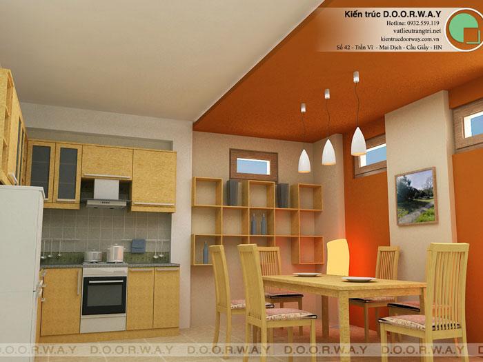 6-Hình ảnh nhữngmẫu nhà bếp ở nông thôn đẹp, đơn giản cho nhà cấp 4 & nhà ống
