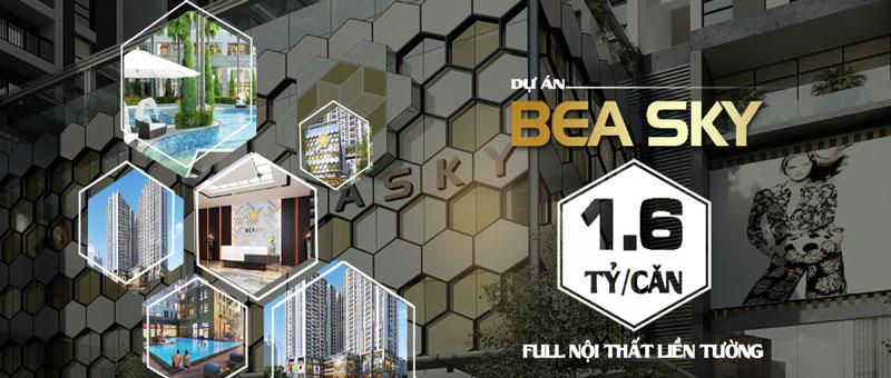 Thiết kế nội thất chung cư Bea Sky Nguyễn Xiển - căn hộ 2 phòng ngủ by kiến trúc Doorway st, bảng giá chi phí căn hộ chung cư BeaSky