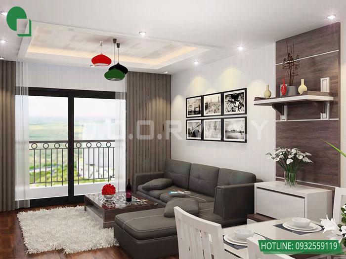 2-1 phòng ngủ, Mê mẩn trước vẻ đẹp của thiết kế nội thất căn hộ chung cư Mỹ Đình Pearl