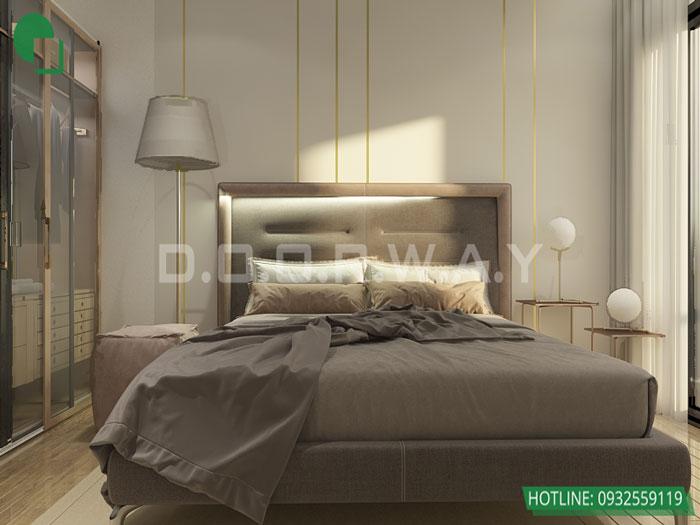 3-1 phòng ngủ, Mê mẩn trước vẻ đẹp của thiết kế nội thất căn hộ chung cư Mỹ Đình Pearl by kiến trúc Doorway
