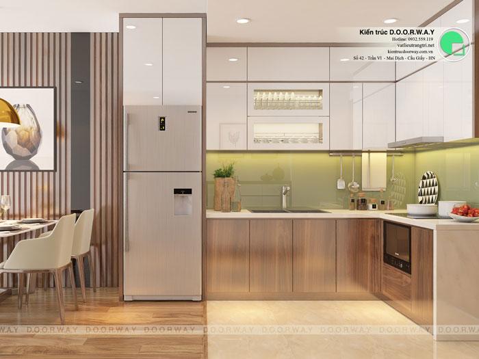 2-2 phòng ngủ, Mê mẩn trước vẻ đẹp của thiết kế nội thất căn hộ chung cư Mỹ Đình Pearl by kiến trúc Doorway