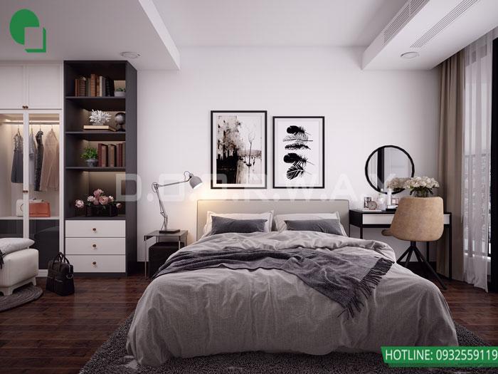 4-2 phòng ngủ, Mê mẩn trước vẻ đẹp của thiết kế nội thất căn hộ chung cư Mỹ Đình Pearl by kiến trúc Doorway