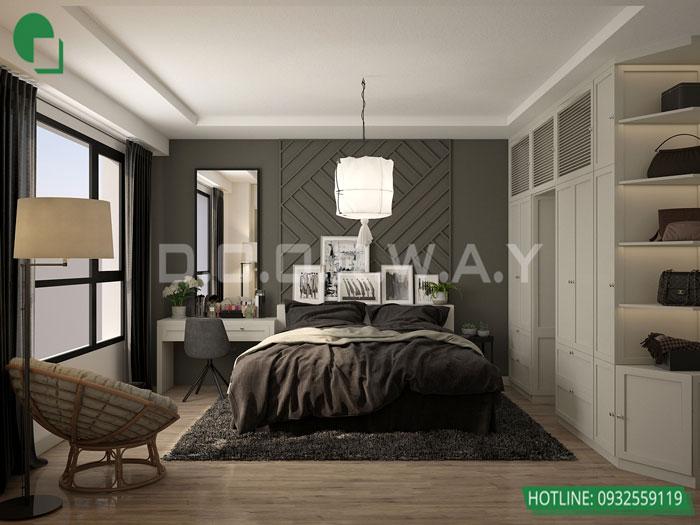 3-3PN-thiết kế căn hộ chung cư Mỹ Đình Pearl cho gia đình đa thế hệ | 3 - 4 phòng ngủ by kiến trúc Doorway