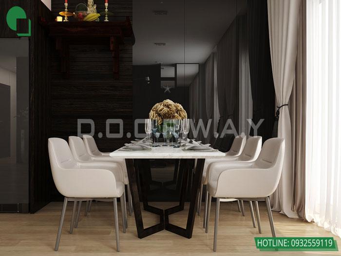1-4PN- thiết kế căn hộ chung cư Mỹ Đình Pearl cho gia đình đa thế hệ | 3 - 4 phòng ngủ by kiến trúc Doorway