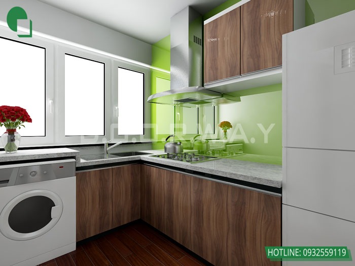 2-4PN- thiết kế căn hộ chung cư Mỹ Đình Pearl cho gia đình đa thế hệ | 3 - 4 phòng ngủ by kiến trúc Doorway