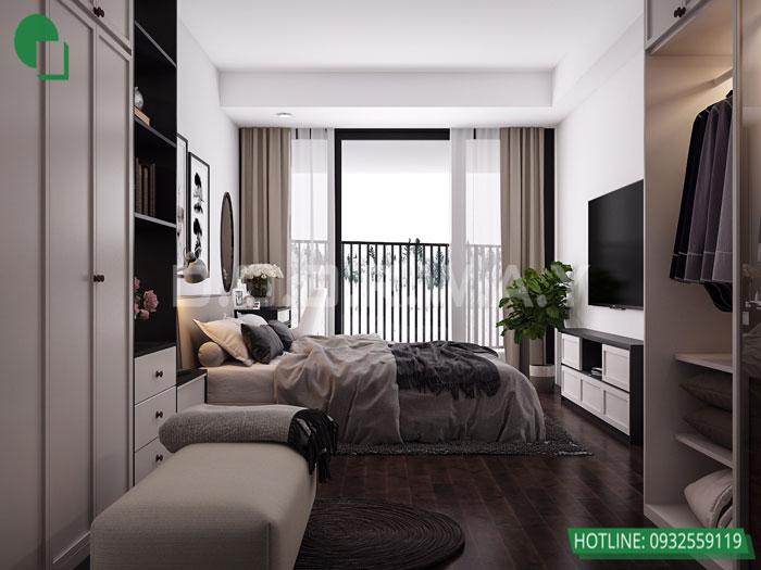 4-4PN- thiết kế căn hộ chung cư Mỹ Đình Pearl cho gia đình đa thế hệ | 3 - 4 phòng ngủ by kiến trúc Doorway