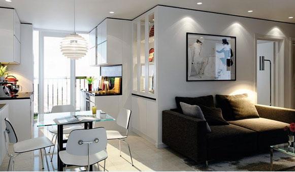 Thiết kế nội thất chung cư The Manor Central Park [Cập nhật 2019] by kiến trúc Doorway, mẫu