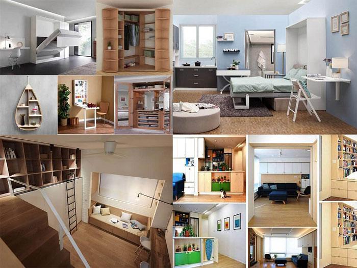 1-Giải pháp thiết kế nội thất thông minh cho căn hộ nhỏ không thể bỏ qua