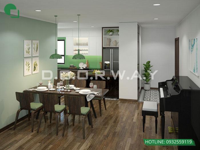 11- Đừng bỏ qua 25 thiết kế nội thất chung cư 110m2 hiện đại mà đẹp này