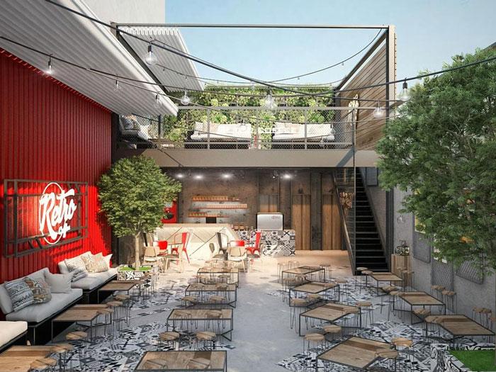 15- Mách bạn cách thiết kế quán cafe đẹp ngang 4m siêu đơn giản