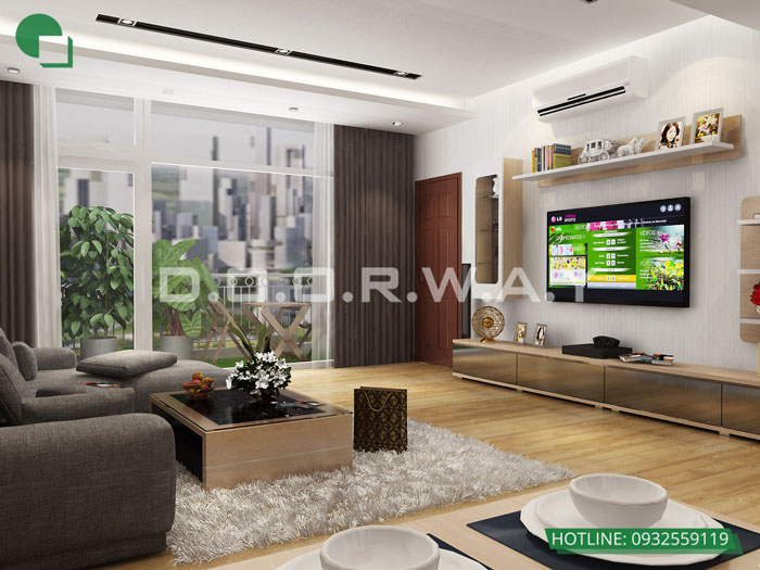2- Đừng bỏ qua 25 thiết kế nội thất chung cư 110m2 hiện đại mà đẹp này