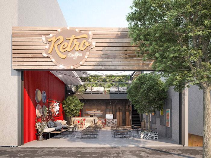 2 - Mách bạn cách thiết kế quán cafe đẹp ngang 4m siêu đơn giản