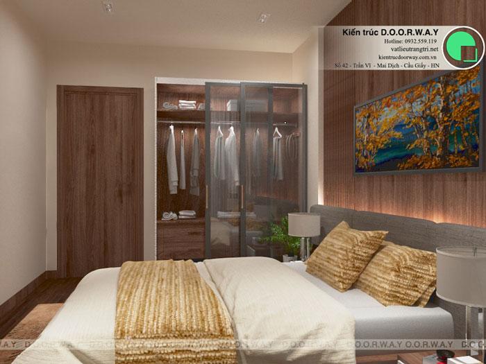2PN-53m2-PN1-1-Xem thiết kế nội thất chung cư The K Park Văn Phú - K1, K2, K3