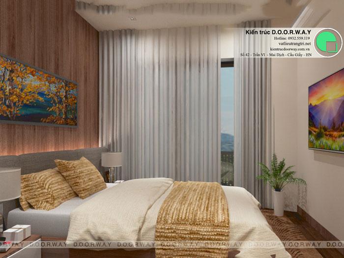 2PN-53m2-PN1-2-Xem thiết kế nội thất chung cư The K Park Văn Phú - K1, K2, K3