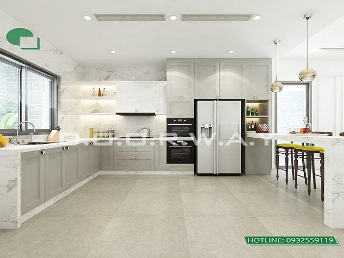 3 - Mẫu thiết kế nội thất biệt thự liền kề hiện đại với ý tưởng độc đáo
