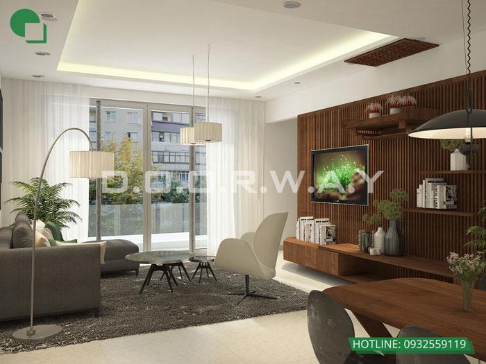 3PN-93m2-PK-Xem thiết kế nội thất chung cư The K Park Văn Phú - K1, K2, K3