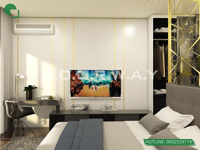 3PN-93m2-PN2-2-Xem thiết kế nội thất chung cư The K Park Văn Phú - K1, K2, K3