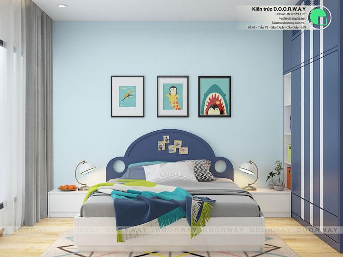 3PN-93m2-PN3-1-Xem thiết kế nội thất chung cư The K Park Văn Phú - K1, K2, K3