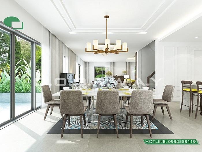 4 - Mẫu thiết kế nội thất biệt thự liền kề hiện đại với ý tưởng độc đáo