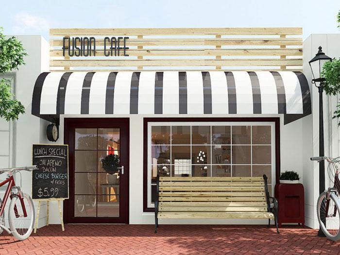 4 - Mách bạn cách thiết kế quán cafe đẹp ngang 4m siêu đơn giản