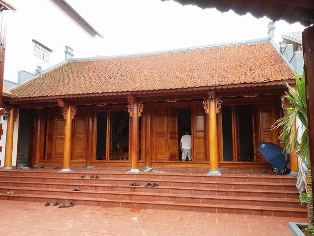 5 - những mẫu nhà ba gian đẹp mang đậm phong cách kiến trúc nhà Việt by kiến trúc Doorway