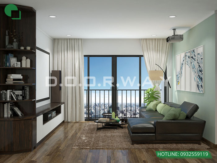 5- Đừng bỏ qua 25 thiết kế nội thất chung cư 110m2 hiện đại mà đẹp này