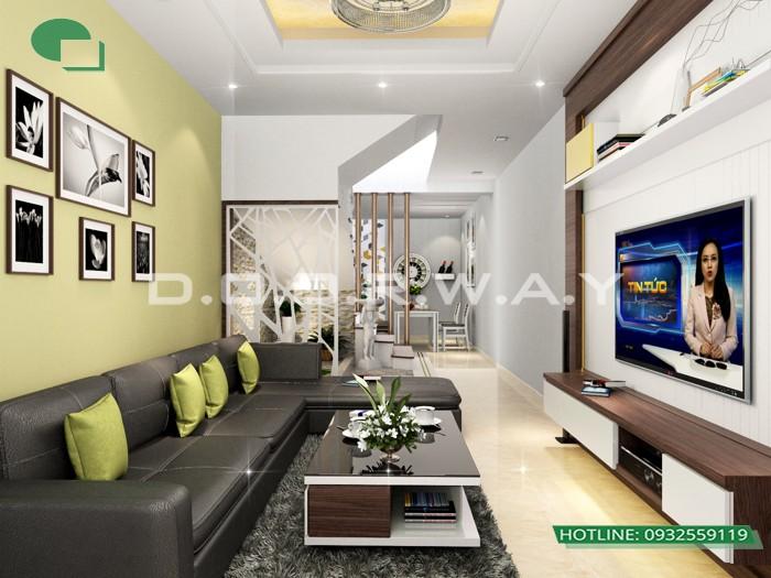 5 - Dịch vụ tư vấn thiết kế nội thất phòng khách 20m2 thoáng mát