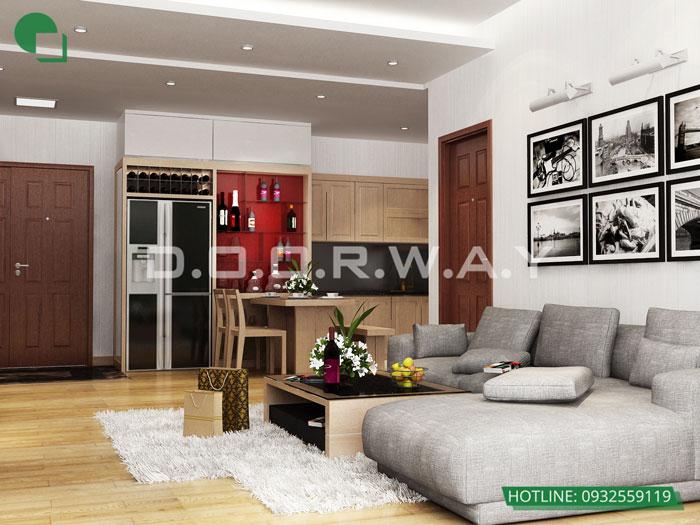 8- Đừng bỏ qua 25 thiết kế nội thất chung cư 110m2 hiện đại mà đẹp này