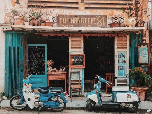 8- Mách bạn cách thiết kế quán cafe đẹp ngang 4m siêu đơn giản