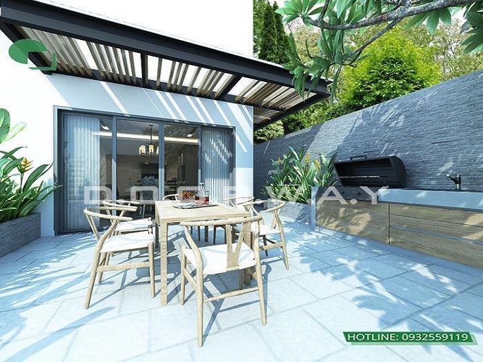 9 - Mẫu thiết kế nội thất biệt thự liền kề hiện đại với ý tưởng độc đáo