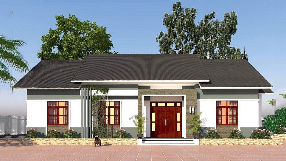 Anhtieubieu - những mẫu nhà ba gian đẹp mang đậm phong cách kiến trúc nhà Việt by kiến trúc Doorway