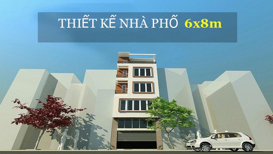 Ảnh tiêu biểu- Mẫu thiết kế nhà phố 6x8m với không gian hiện đại, thoáng mát từ Doorway