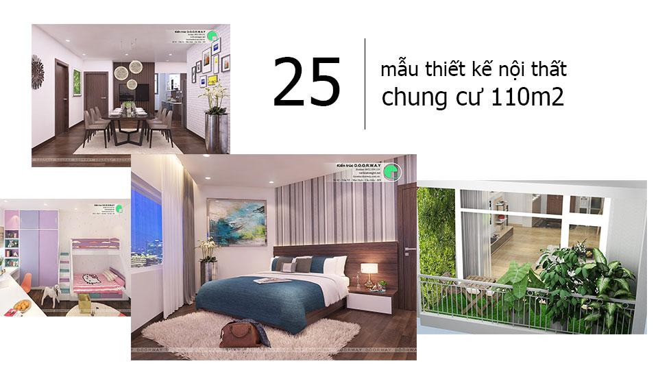 Ảnh tiêu biểu 2- Đừng bỏ qua 25 thiết kế nội thất chung cư 110m2 hiện đại mà đẹp này
