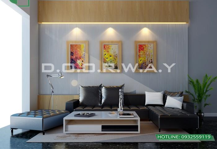 2- Tư vấn thiết kế nội thất phòng khách chung cư hiện đại sang trọng