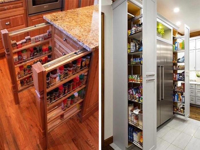 3- Top 7 mẫu nội thất nhà bếp thông minh tiện lợi được ưa chuộng hiện nay