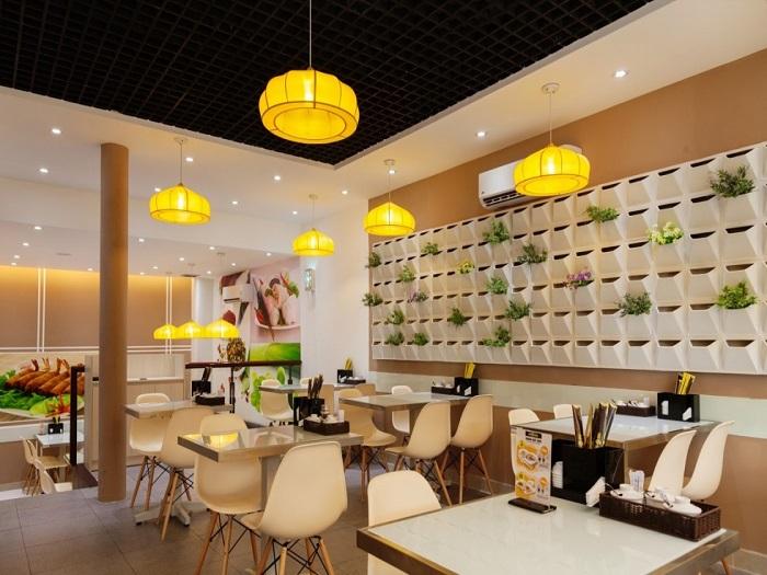 4- Xu hướng thiết kế nhà hàng ăn nhanh hiện đại thu hút khách hàng