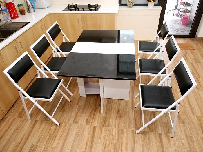 6- Top 7 mẫu nội thất nhà bếp thông minh tiện lợi được ưa chuộng hiện nay